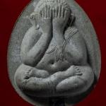 พระปิดตา ญสส.จัมโบ้ เนื้อผงหินครก ตะกรุดเงิน สมเด็จพระสังฆราช วัดบวร ปี 38 พร้อมกล่องครับ (17)