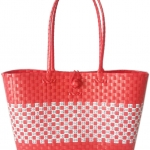 กระเป๋าขนาดใหญ่ โทนสีแดง (ATL-49)