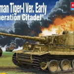 AC13509 German Tiger-1 Ver.Early Operation Citadel 1/35