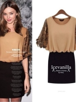 IceVanilla Nibbuns Hip Printing Dress