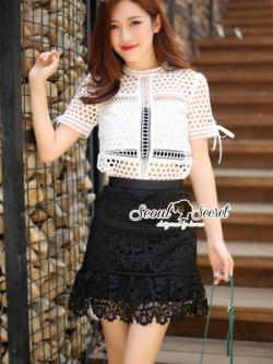 Seoul Secret Vilavila Lace Chic Set