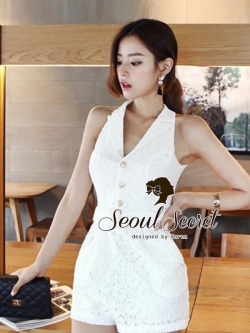 Seoul Secret Lovely Short Playsuit