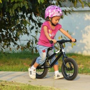 K-POP mini balance bike จักรยานทรงตัวสีดำ