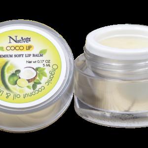 เนทีฟ พรีเมี่ยม ซอฟลิปบาล์มกลิ่นมะนาว (Native Premium soft lip balm with Lemon Lime oil)