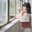 กระเป๋าถือสะพายข้างยี่ห้อ Super Lover ดอกไม้ญี่ปุ่นสีหวาน (Pre-Order) thumbnail 10