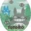 ผ้าครอบฝาชักโครก My Neighbor Totoro สีเขียว thumbnail 1