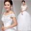 (Pre-Order) ชุดแต่งงาน <ไหล่ปาด> รหัสสินค้า WDL0001 thumbnail 1