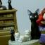 กล่องเพลง Kiki's Delivery Service Ceramic Music Box (Jiji's Family) thumbnail 2