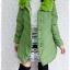 ((ขายแล้วครับ))((คุณKaiจองครับ))ca-2607 เสื้อโค้ทกันหนาวผ้าร่มสีเขียว รอบอก38 thumbnail 3