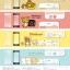 กระจกกันรอย iPhone 6/6S Rilakkuma (cat) สีขาว thumbnail 3