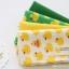 ผ้าคอตต้อนเกาหลีจัดเซต small rubber duck four kinds ขนาด 27.5x45cm จำนวน 4 ชิ้น thumbnail 2