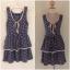 Dress ยี่ห้อ topshop by yuki พร้อมส่งตัวเดียวไขส์ uk10 thumbnail 1