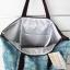 กระเป๋าเก็บอุณหภูมิสะพายไหล่ Sumikko Gurashi สีฟ้า พับเก็บได้ thumbnail 2