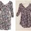 Floral print dress by miss selffridge สินค้าใหม่ พร้อมส่ง uk8 thumbnail 1