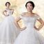 (Pre-Order) ชุดแต่งงานคนอ้วน <ไหล่ปาด> รหัสสินค้า PSWDL0010 thumbnail 1