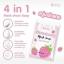 Strawberry Mask Soap by Sumanee 30 g. สบู่มาร์กสตรอ จากสุมณี หน้าใส ไร้สิว thumbnail 11