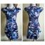 ASOS Floral Cap Sleeve Dress Size uk8 thumbnail 3