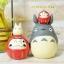 ตุ๊กตาเรซิ่น My Neighbor Totoro + Daruma (เล็ก) thumbnail 4