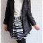 ((ขายแล้วครับ))ca-2552 เสื้อโค้ทกันหนาวผ้าร่มสีดำ รอบอก34 thumbnail 3