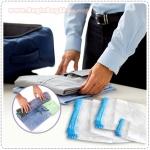 ถุงสูญญากาศสำหรับแพ็คเสื้อผ้า เสื้อกันหนาว ผ้าห่มนวม ทำให้มีพื้นที่เพิ่มขึ้นอีกถึง 75%