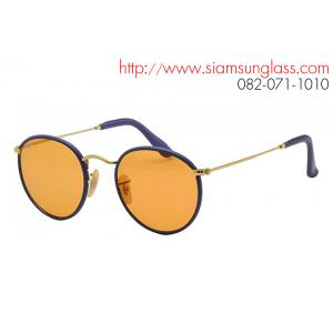 Ray Ban Round Leather RB3475Q 001/13