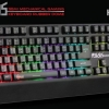 SIGNO E-Sport KB-739 PEGASUS : Semi Mechanical Gaming Keyboard Rubber Dome