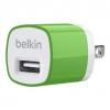 หัวชาร์จบ้าน belkin 1.0 แอมป์ (สีเขียว)