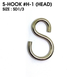 S-HOOK : H-1 (HEAD) size SD1/3