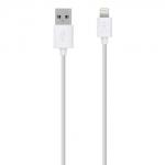 สายชาร์จ หัว Lightning belkin iPhone 5 หรือสูงกว่า (สีขาว)
