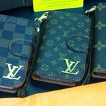 Louis Vuitton  Wallet Monogram Brown Case  iPhone 5/5s