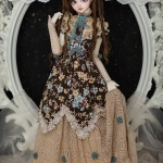 [PRE-ORDER] Blue Floral Victorian