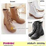 Preorder 265099p รองเท้าหุ้มส้นแฟชั่น 34-39
