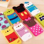 Disney Cartoon Silicone  Case For Samsung Galaxy S3