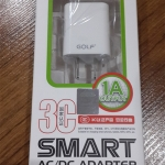 ที่ชาร์จไฟ USB 1A สำหรับมือถือสมาร์ทโฟนทั่วไป ยี่ห้อ GOLF รุ่น DC-5100