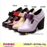 Preorder 467548p-big รองเท้าหุ้มส้นแฟชั่น 40-43