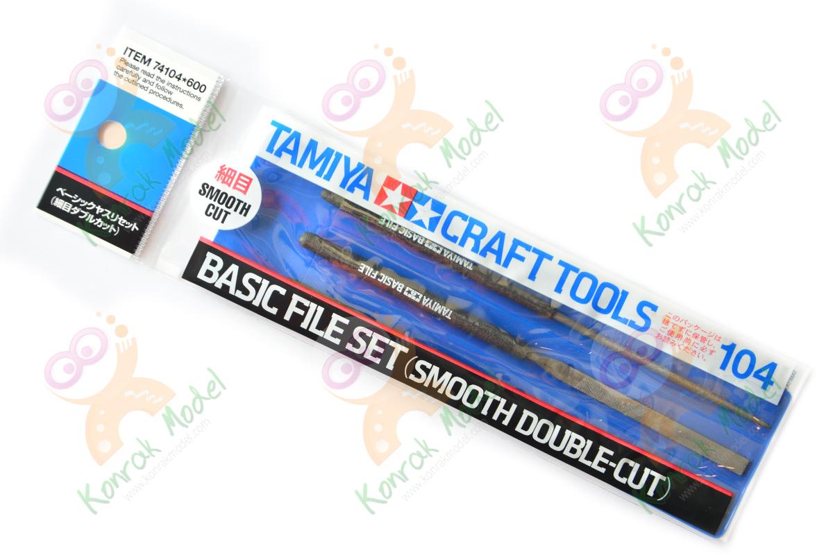 TA74104 Basic File Set (Smooth Double Cut)