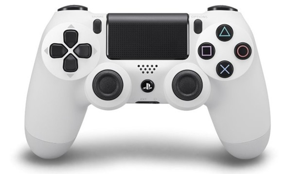 จอย PS4: Dual Shock 4 - White [PC/PS4]