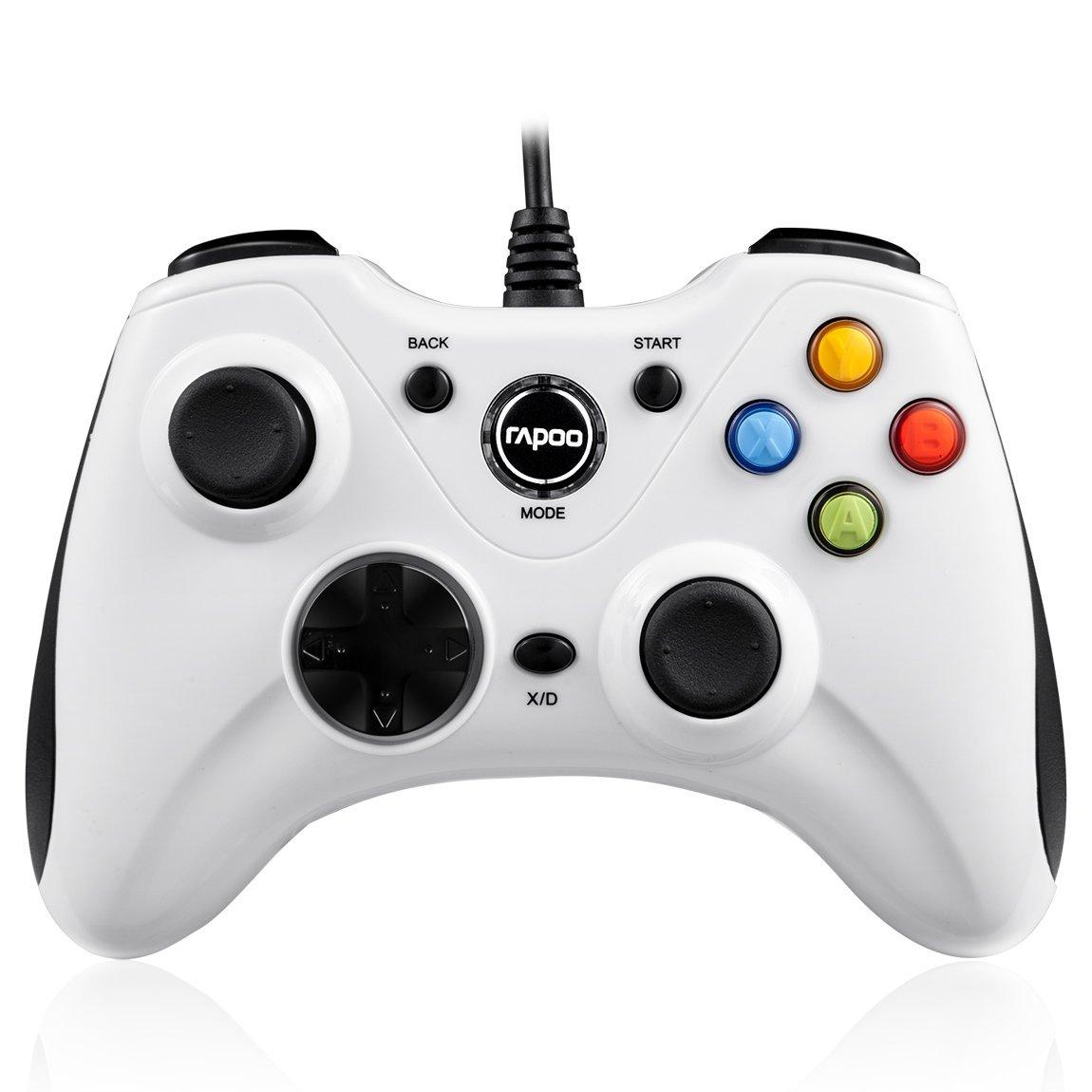 จอย Rapoo - V600 (ขาว) ใช้งานได้แบบ Xbox 360