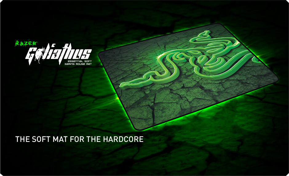 Razer Goliathus Control Edition Medium Mousepad (ลายพื้นดิน)