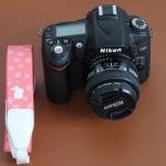 สายคล้องกล้อง IMTONI cherry pink