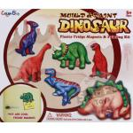 ชุดแม่พิมพ์และสี ไดโนเสาร์...(Mould & paint Dinosaur) ฟรีค่าจัดส่งค่ะ
