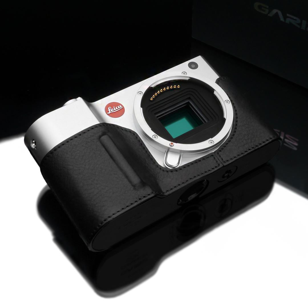 Gariz Leather Half-case for Leica T : Black