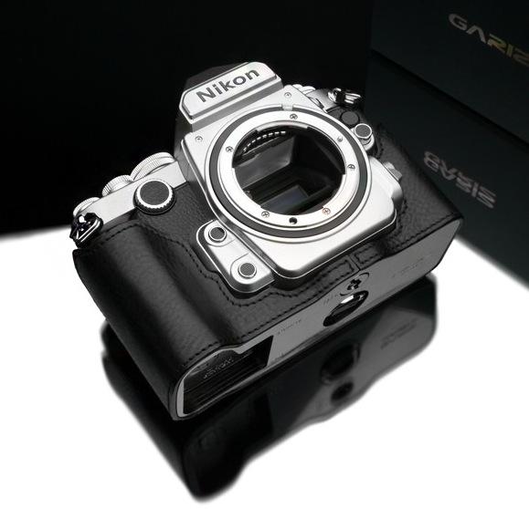 Gariz Leather Half-case for Nikon Df : Black