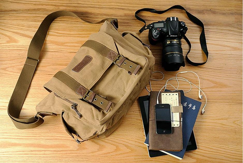 กระเป๋ากล้อง vintage courser F1002