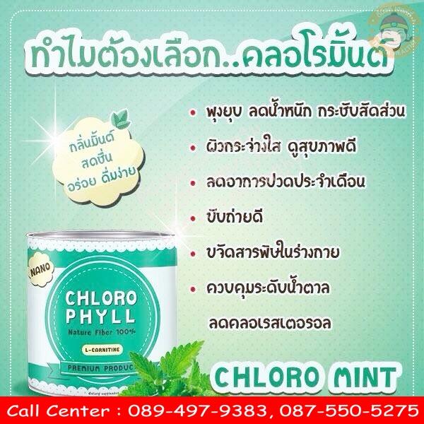 chloro mint ราคา