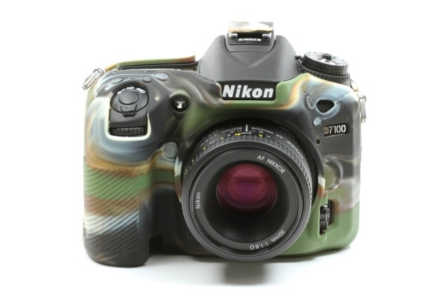 Nikon D7100 EasyCover Silicone Case -Camouflage
