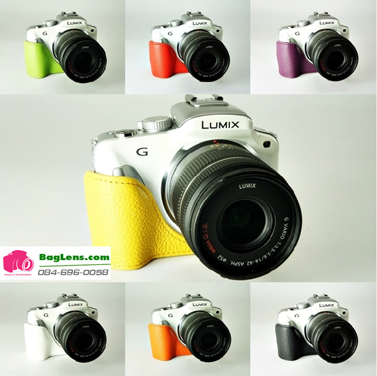 Case กล้อง TP Panasonic G3 color collection