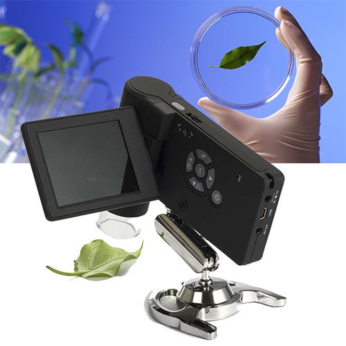 กล้องจุลทรรศน์ USB & AV LCD SCREEN 200X (สำหรับพกพา)