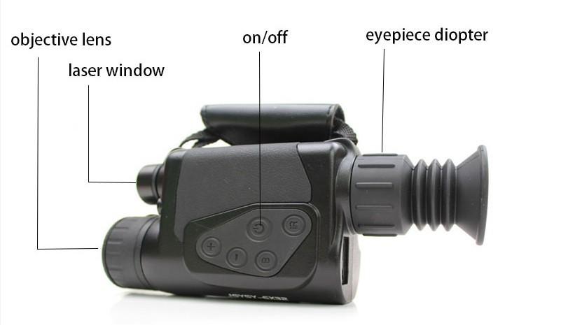 กล้องอินฟลาเรดส่องทางไกลการใช้งาน