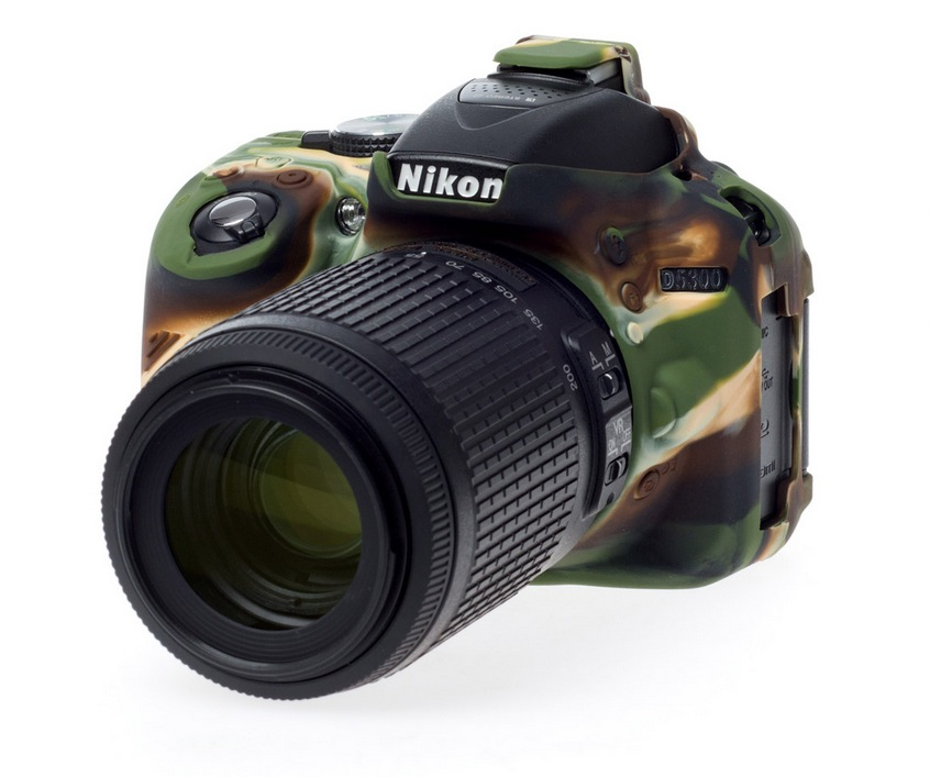 Nikon D5300 EasyCover Silicone Case -Camouflage